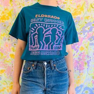 [vintage] 80s 90s New Mexico Best Buddies Tshirt